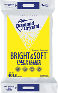 Bright and Soft water softener salt pellets 40 lbs