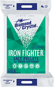 Diamond Crystal® Iron Fighter® Water Softener Pellets