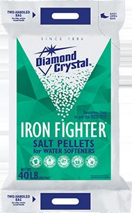 Diamond Crystal® Iron Fighter® Water Softener Pellets