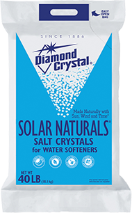 Diamond Crystal® Solar Naturals™ Water Softener Salt Crystals