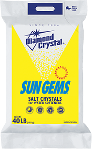Sun Gems® Crystals and Sun Gems® Red·Out® Water Softener Salt Crystals