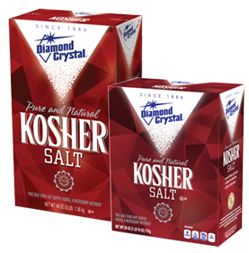 kosher salt box