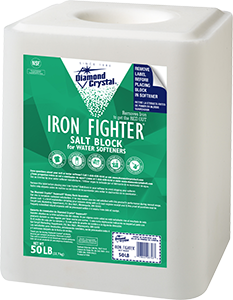 Iron Fighter Salt Block