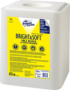 Bright and Soft Water Softening Block